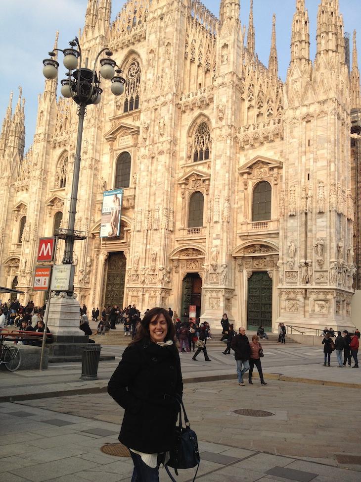 Susana em Milão © Viaje Comigo