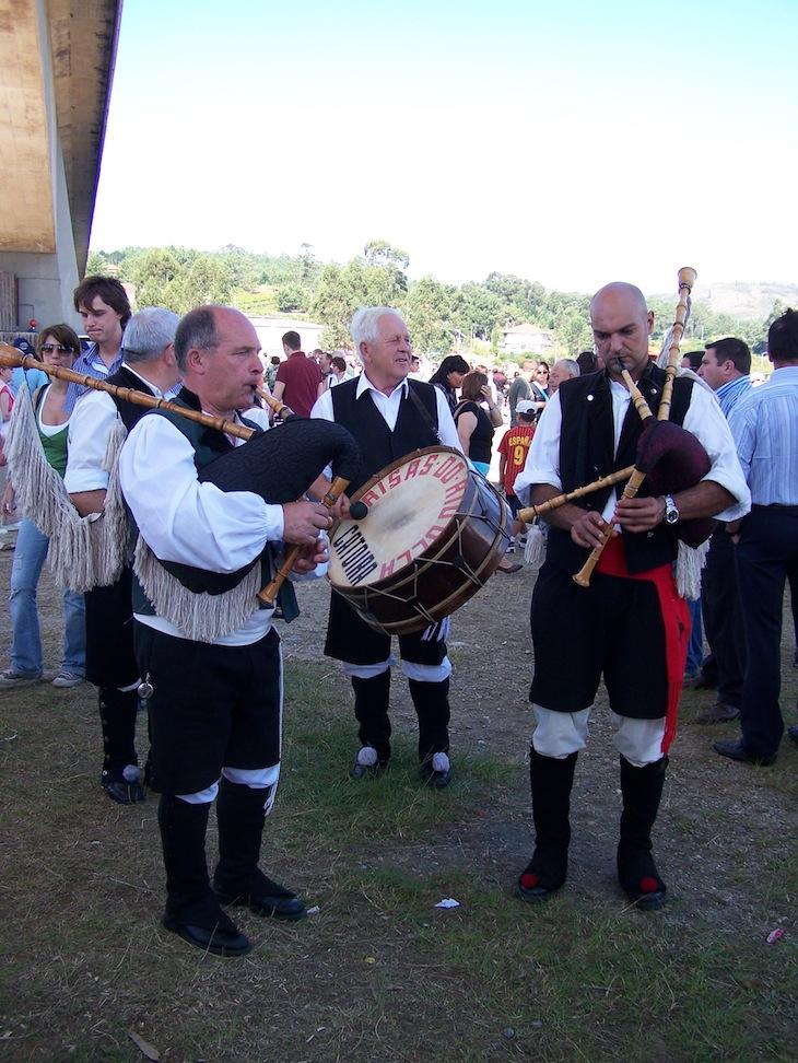 Festa dos Vikings em Catoira, na Galiza