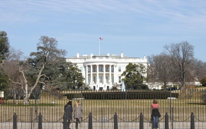 Washington DC Casa Branca © Viaje Comigo