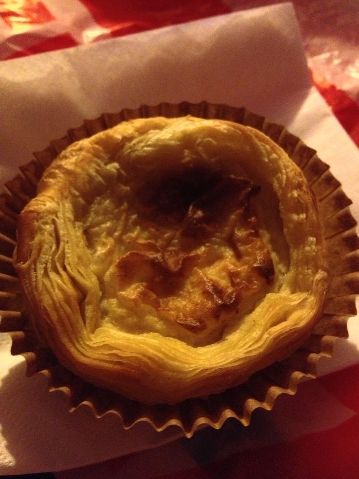 Pastel de Nata com Bacalhau do Ferrugem