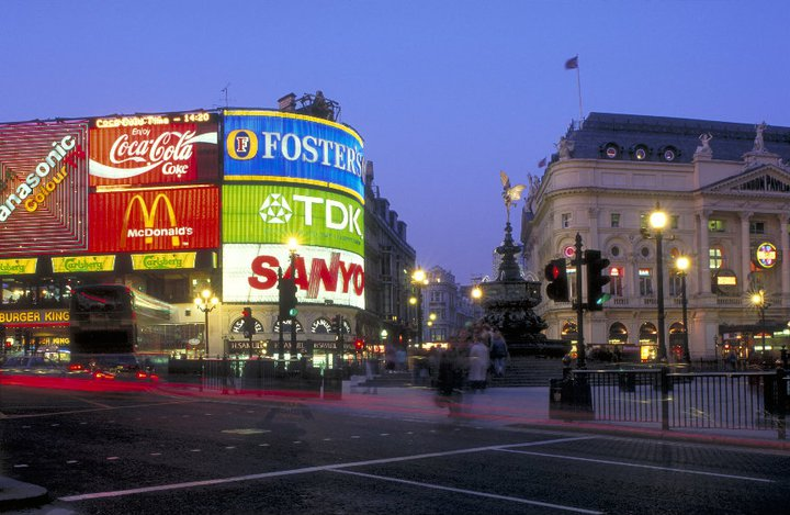 Piccadilly Circus - www.visitlondon.com