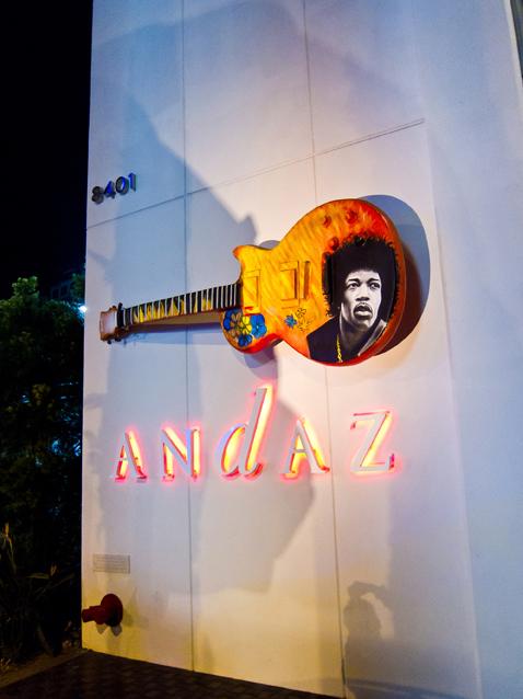 Andaz Hotel, Los Angeles