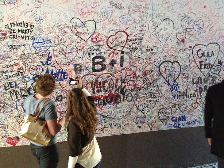 Declarações de amor, Verona