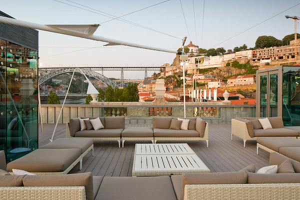 Lounge Terrace 360º no Porto Cruz