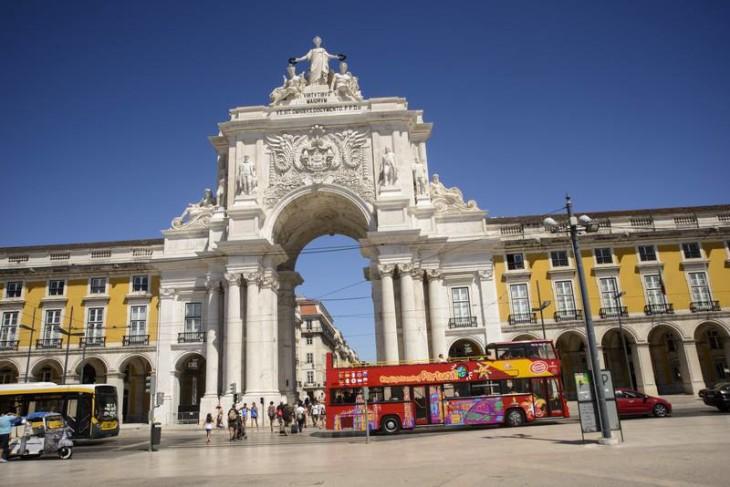 Miradouro do Arco da Rua Augusta, em Lisboa - ©DR