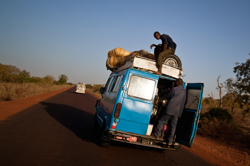 Na estrada em direção a Bamako