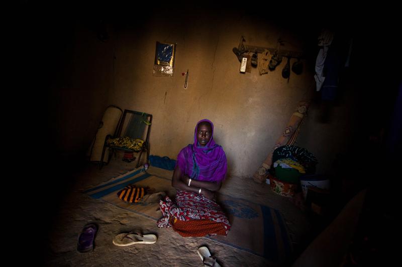 Numa aldeia entre Djenné e Mopti