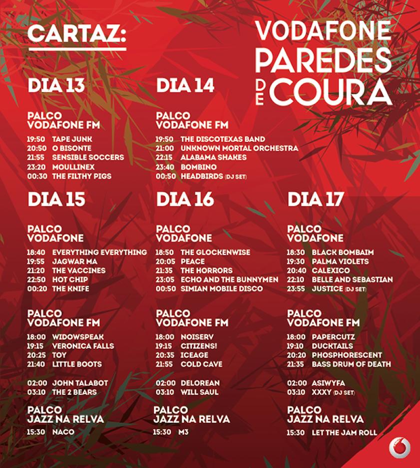 Festival vodafone paredes de coura 2013 viaje comigo for Paredes de coura festival