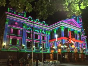 Câmara de Melbourne no Natal