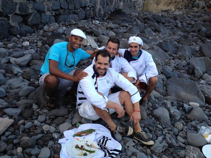 Filipe Pina, António Amorim, Arnaldo Azevedo e Joaquim Sousa.