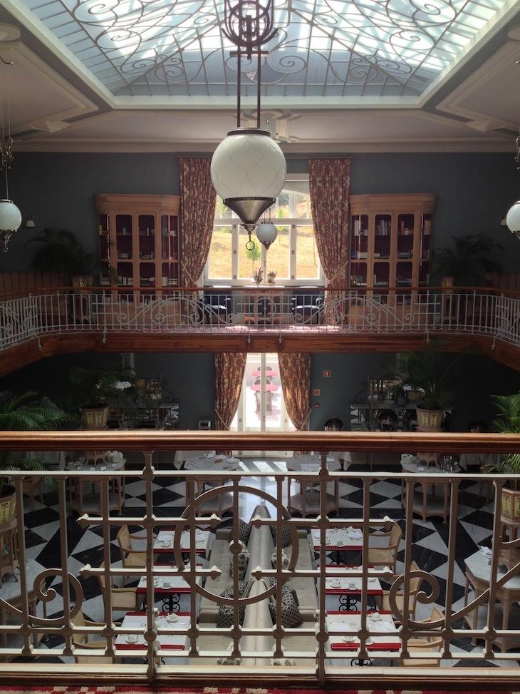 Vidago Palace (sala dos pequenos-almoços)