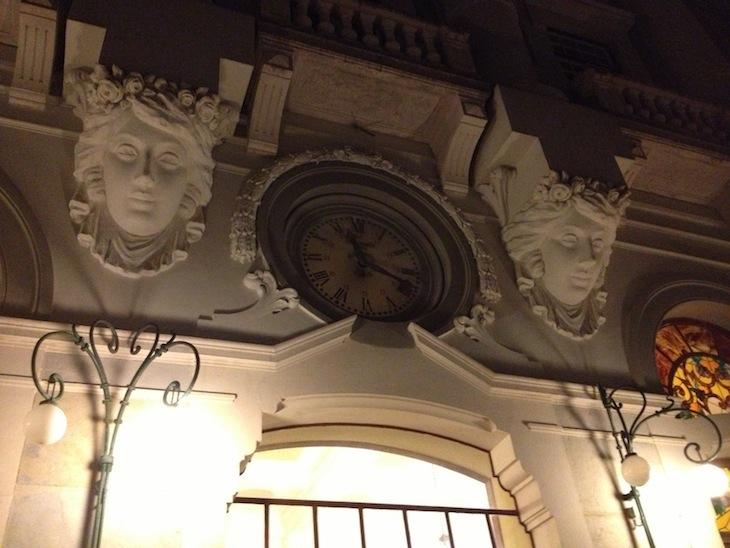 Relógio na fachada do Curia Palace, Hotel Spa & Golf