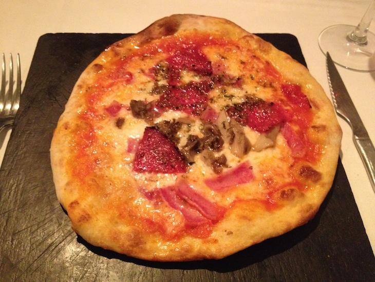 Pizza no Il Salotto, Madrid