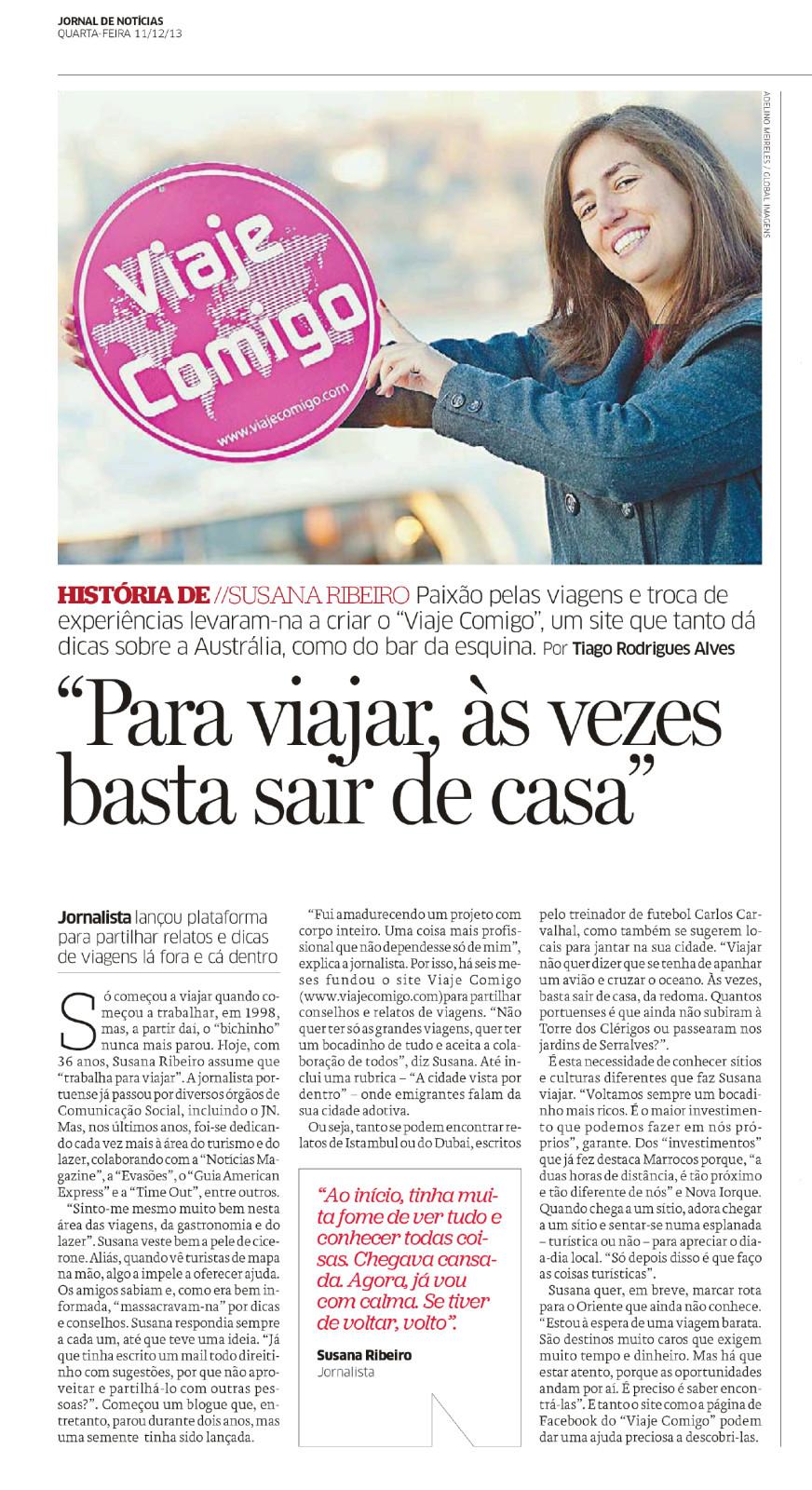 Jornal de Noticias e-paper - Jornal de Noticias - 11 dez 2013 -