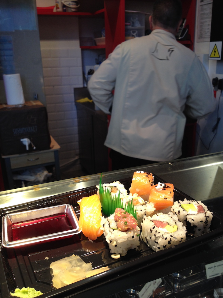 Sushi no Mercado San Miguel, Madrid