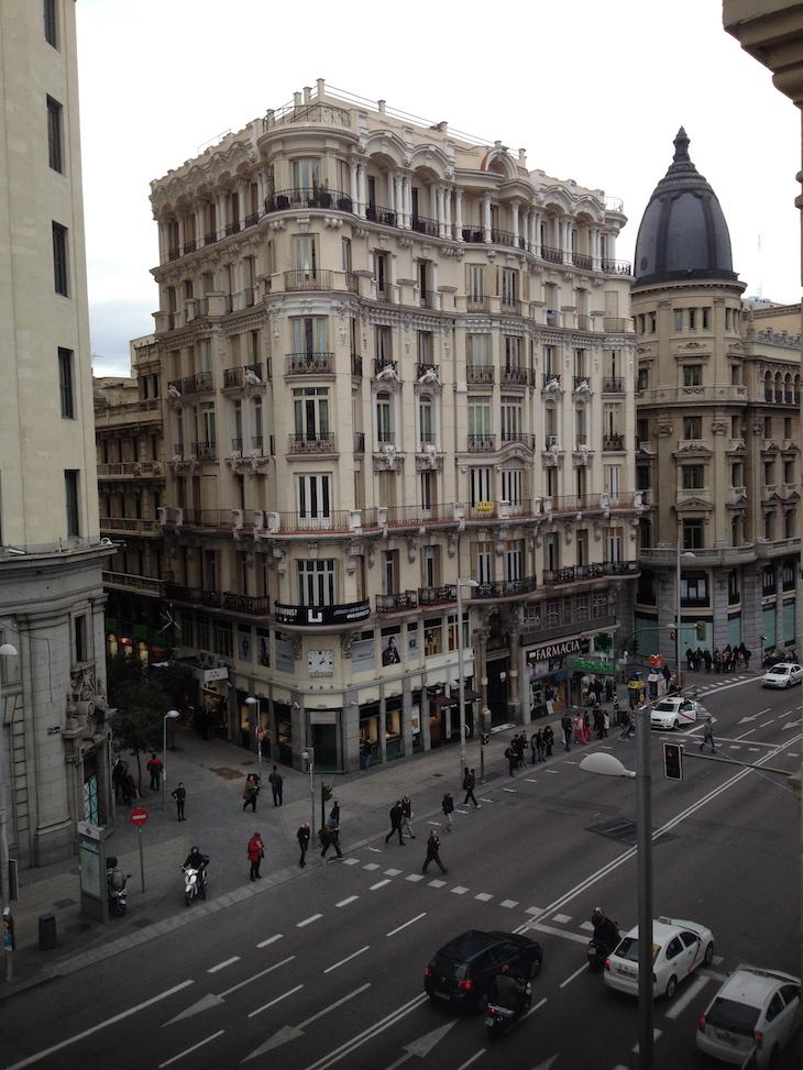 Vista do Praktik Metropol Madrid