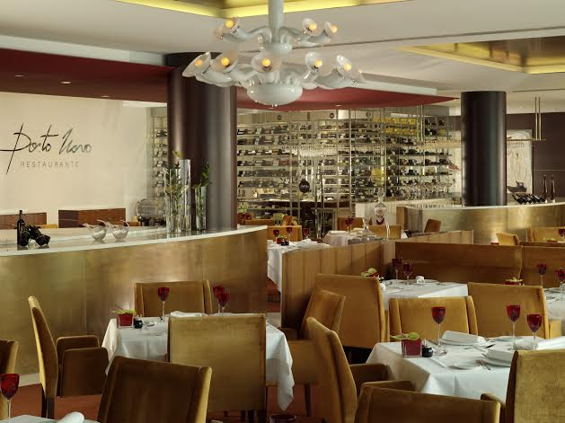 Restaurante Porto Novo no Sheraton Porto
