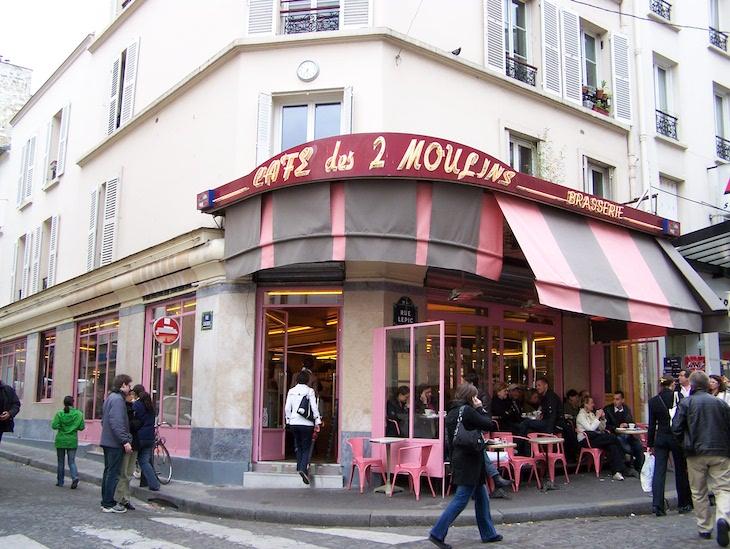 Café des Deux Moulins, Montmartre, Paris