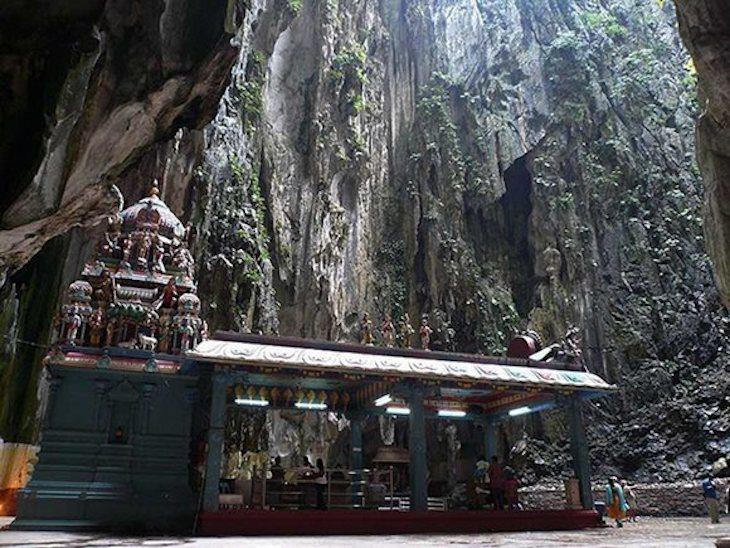 Cavernas Batu na Malásia