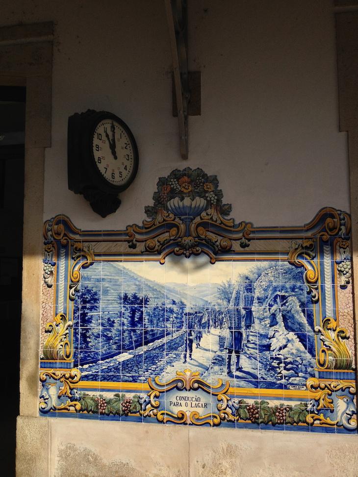 Azulejos da Estação de Comboios do Pinhão