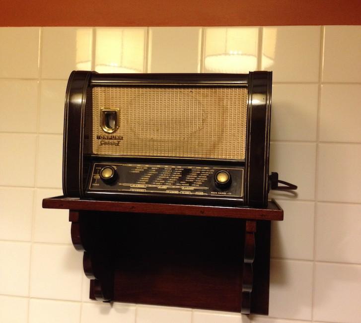 Rádio antigo, Casa de Gouvães