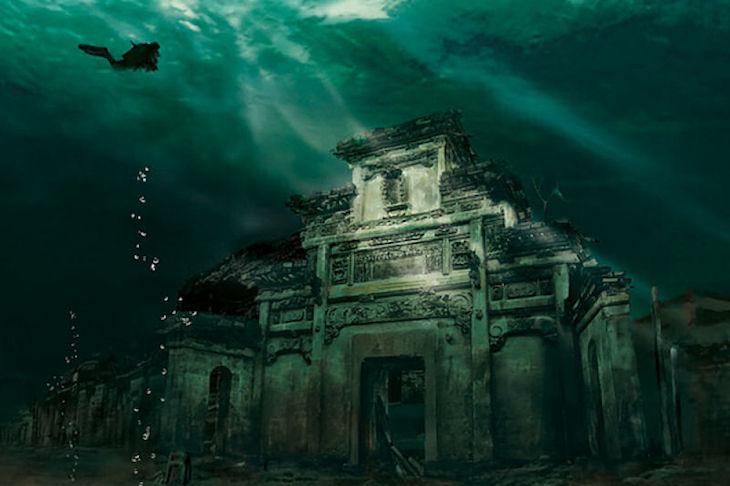 China, a cidade de Shicheng