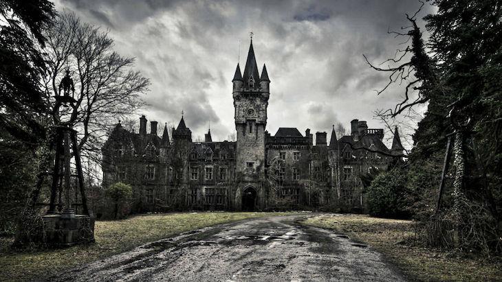 Castelo Miranda, Celles, na Bélgica