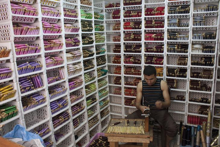 Loja de fios em Oujda