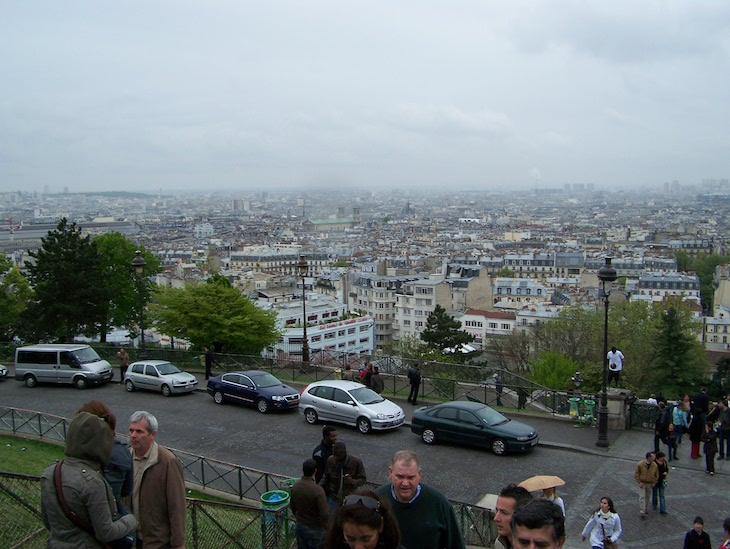 Vista do Sacré Coeur, Paris