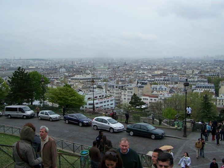 Vista do Sacré Coeur, Paris