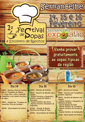 1º Festival de Sopas e Encontro de Ranchos, Sernancelhe
