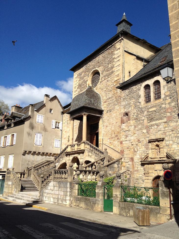 Saint-Geniez-d'Olt, Aveyron, França © Viaje Comigo