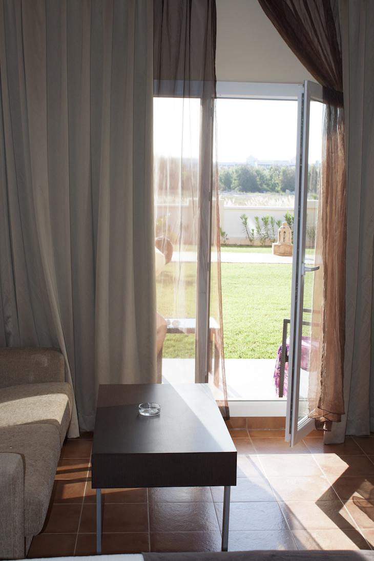Vista do quarto do Be Live Hotel, Saidia