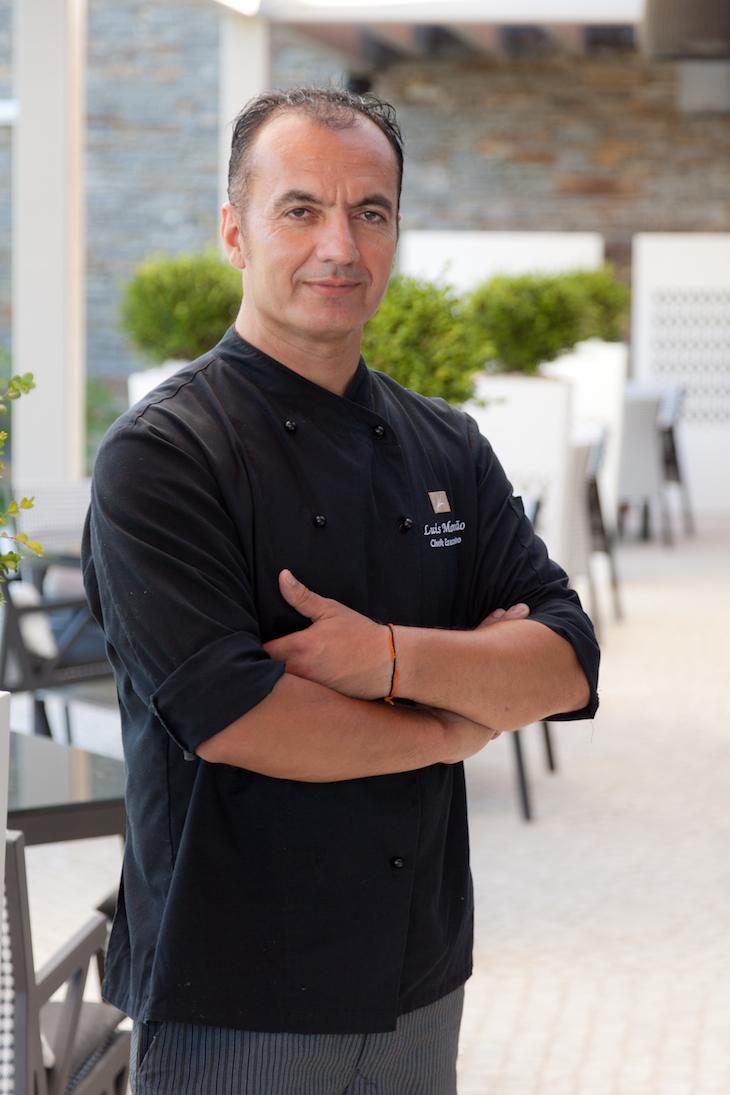 Chef Luís Mourão do EPIC SANA Algarve Hotel
