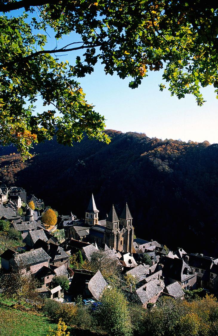 Conques, Aveyron, França @ Viaje Comigo