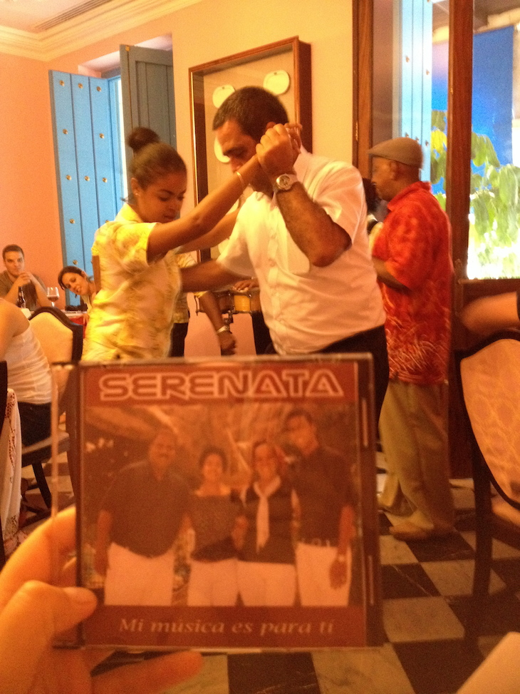 Cuarteto Serenata, Havana
