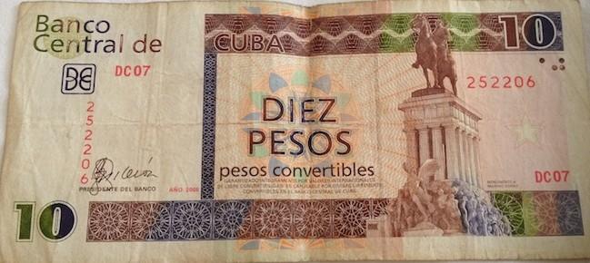 notas cubanas