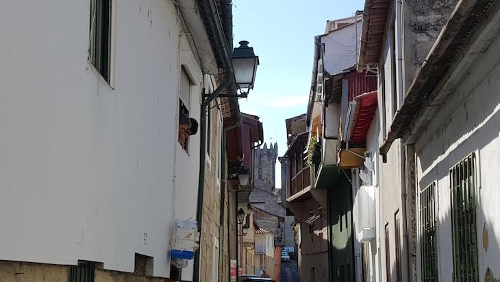 No centro histórico de Chaves © Viaje Comigo