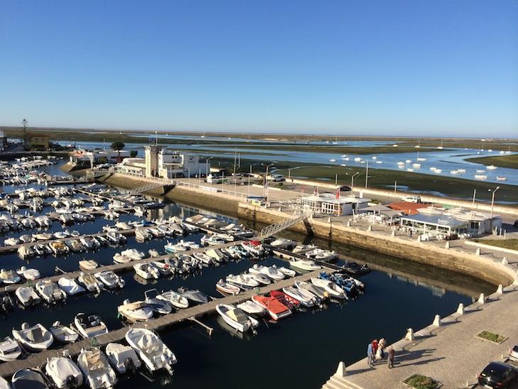 Vista do quarto no Hotel Eva, Faro Algarve © Viaje Comigo