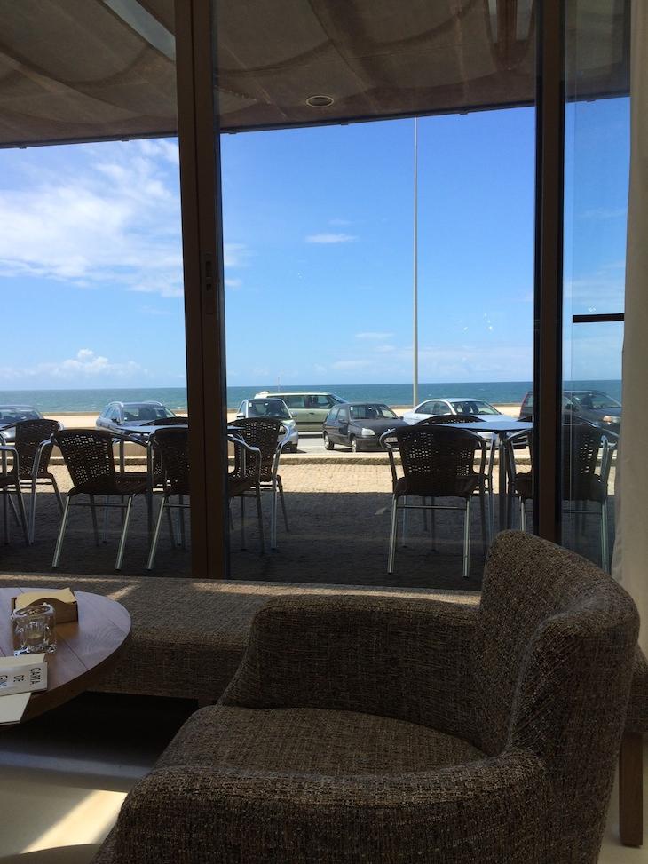Restaurante Memorial, vista para o mar
