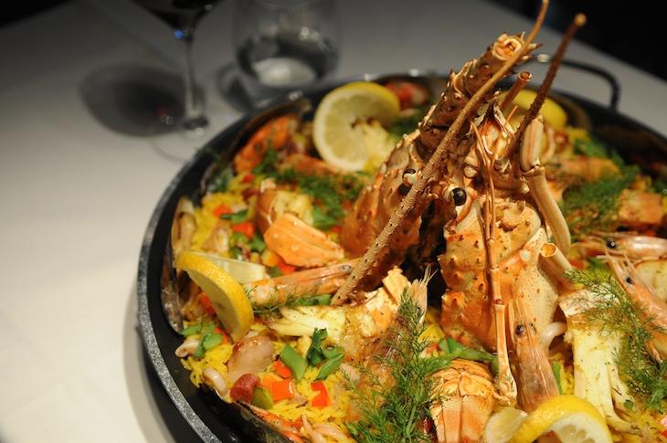 Restaurante Memorial: Paella Real
