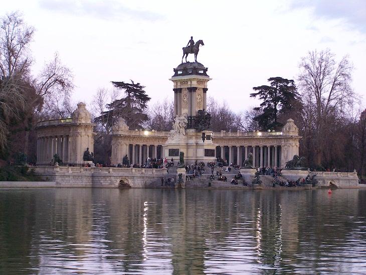 Parque do Retiro, Madrid ©Viaje Comigo