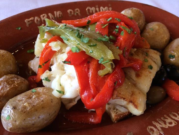 Bacalhau no Restaurante Forno da Mimi © Viaje Comigo