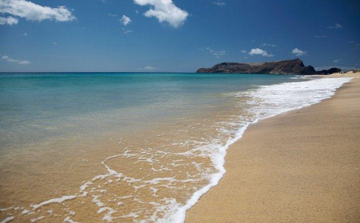 Praia de Porto Santo - Foto: Turismo da Madeira