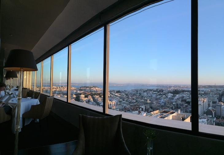 Restaurante Panorama, hotel Sheraton Lisboa