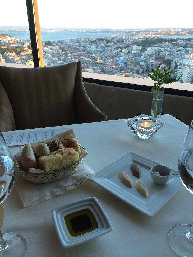 Restaurante Panorama no hotel Sheraton Lisboa