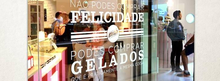 A Sou Sweet vende gelados nas Galerias Lumiére