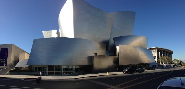 Walt Disney Concert Hall - Los Angeles @ Viaje Comigo