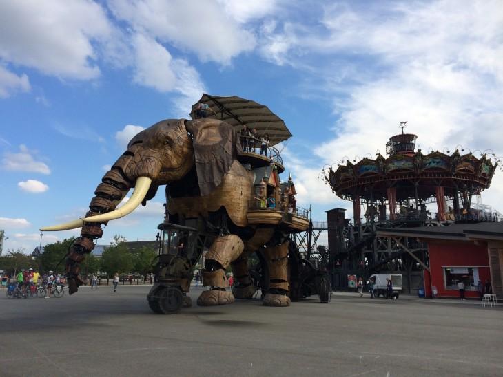 Machines de l'Ile de Nantes © Viaje Comigo
