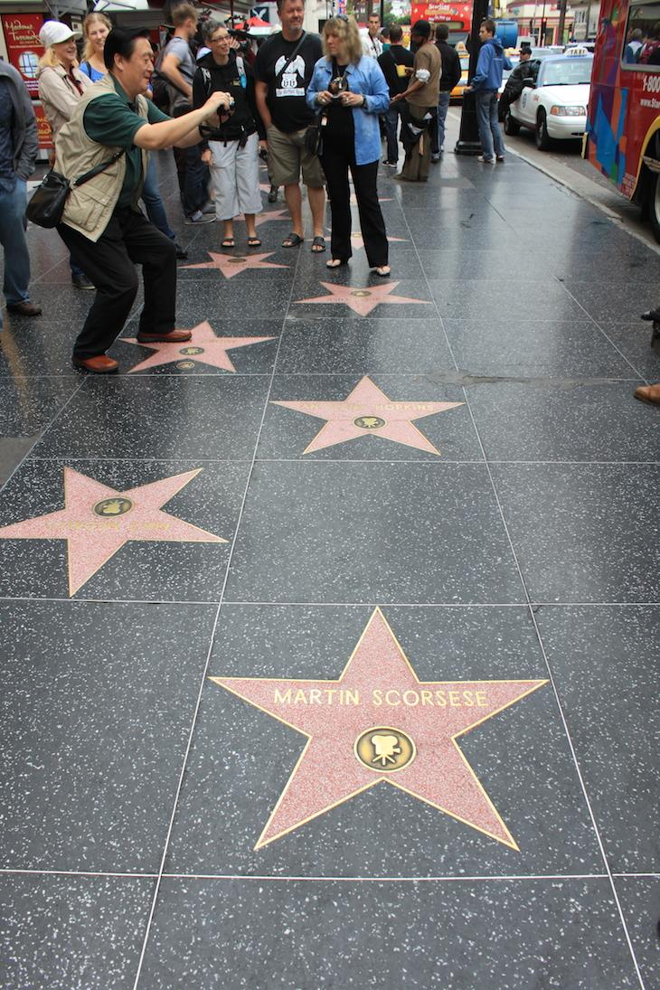 Martin Scorsese - Hollywood Boulevard